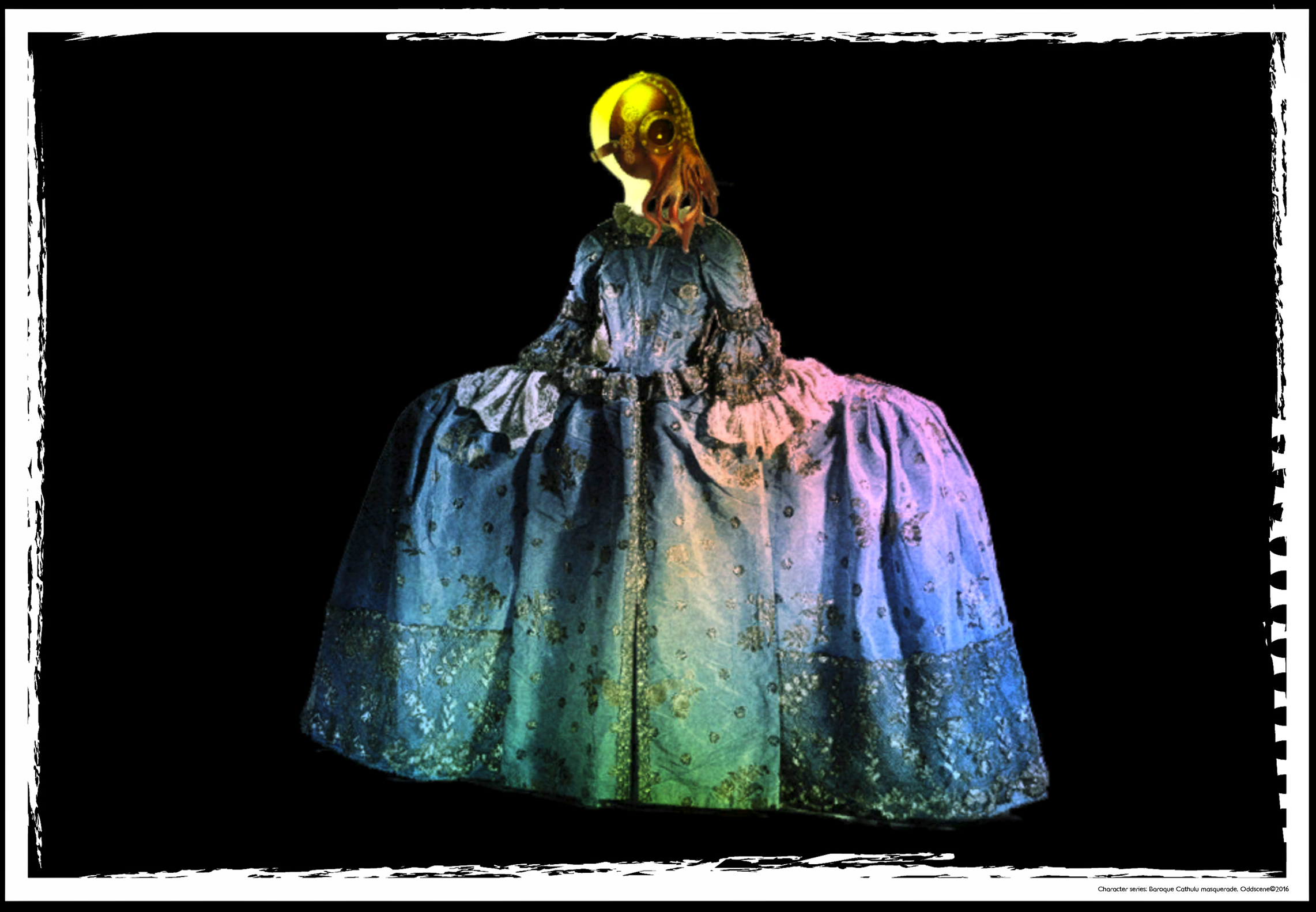 'Baroque Cathulu Masquerade'