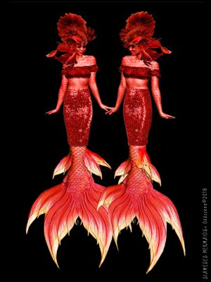 Oddscene - 'Siamese Mermaids'