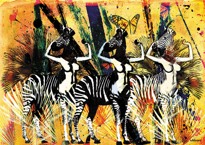 Savana Zebras